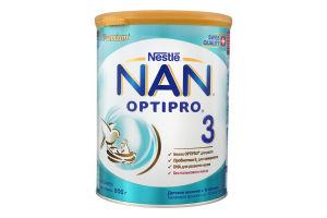 Смесь молочная сухая для детей от 12мес №3 Детское молочко Premium NAN ж/б 800г