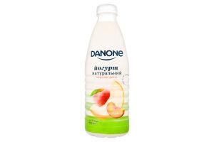 Йогурт 1.5% питний Персик-диня Danone п/пл 800г