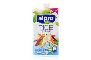 Заменитель сливок на растительной основе Рисовый Alpro т/п 250мл