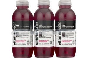 vitaminwater Zero XXX Nutrient Enhanced Water Beverage Acai-Blueberry-Pomegranate - 6 PK