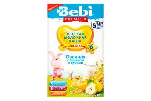 Каша молочная для детей от 6мес Овсяная с бананом и грушей Bebi Premium к/у 200г