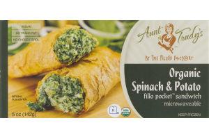Aunt Trudy's Organic Spinach & Potato