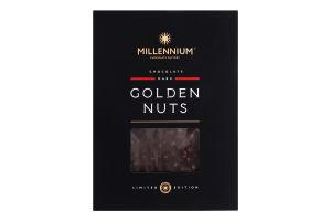 Шоколад чорний з цільним фундуком Golden Nuts Millennium к/у 1.1кг