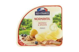 Сир 50% напівтвердий Normantal Ile De France лоток 150г