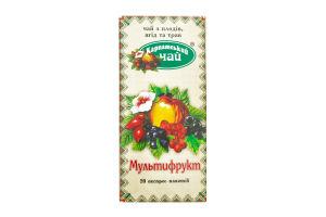Чай с плодов ягод и трав Мультифрукт Карпатский чай 20х2г