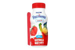 Йогурт 1.5% Клубника Растішка п/бут 115г
