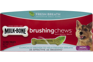 Milk-Bone Mini Dog Treats Brushing Chews - 14 CT