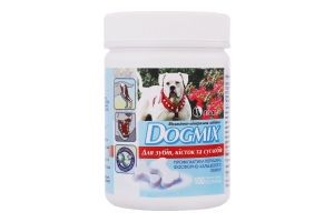 Добавка вітамінно-мінеральна Для зубів, кісток та суглобів Dogmix 100шт
