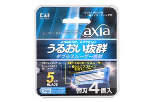 Картридж змінний для станка чоловічий Axia Kai 4шт