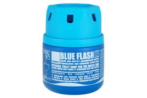 Средство для мытья и дезинфекции унитаза Blue Flash Sano 200г