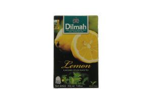 Чай черный Dilmah Лимон