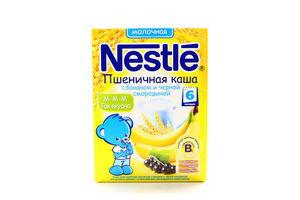 Каша Nestle Пшенична з бананом та чорною смородиною 250г