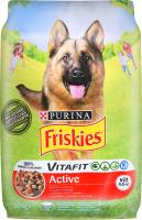 Корм сухий для собак з яловичиною Active Friskies м/у 10кг