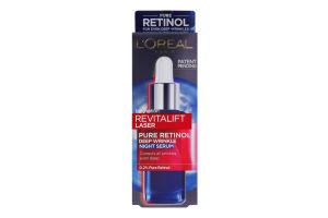 Крем для лица ночной против глубоких морщин Pure Retinol Revitalift Laser L'Oreal Paris 30мл