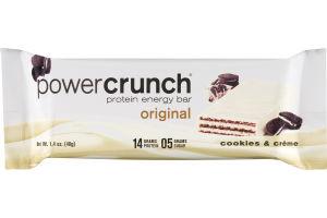 Power Crunch Protein Energy Bar Original Cookies & Creme