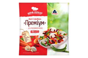 Овочі з грибами заморожені Преміум Рудь м/у 400г