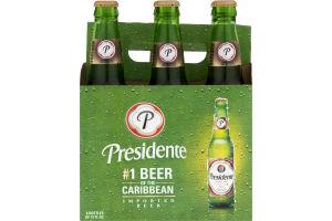 Presidente Beer - 6 PK