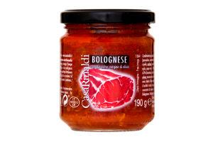 Соус томатный Bolognese Casa Rinaldi с/б 190г
