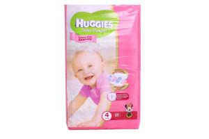 Подгузники Ultra Comfort для девочек Huggies8-14кг 66шт