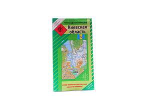 Карта Київської області
