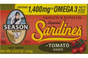 Season Brand Sardines in Tomato Sauce