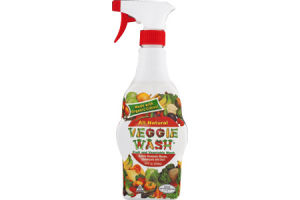 Veggie Wash Fruit and Vegetable Wash All Natural
