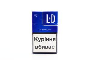 Сигарети LD Blue 8 з мундштуком