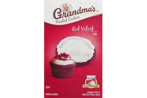Grandma's Frosted Cookies Red Velvet - 6 CT