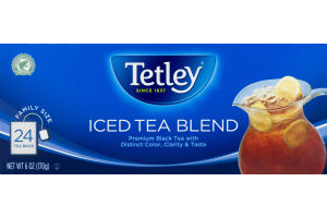 Tetley Iced Tea Blend Tea Bags - 24 CT