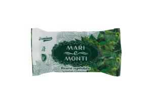 MARI e MONTI серветки вологі Premium Herbal Complex шавлія 15шт