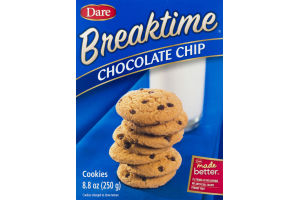 Dare Breaktime Cookies Chocolate Chip