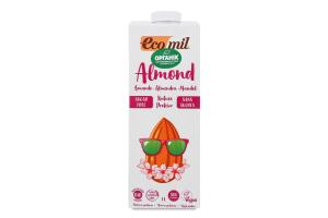 Молоко органічне Ecomil Almond з мигдалю б/цукру 1л х6