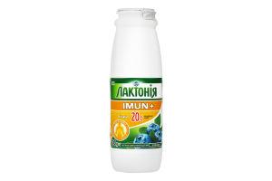 Напій кисломолочний Лактонія Imun Чорниця 1.5% 100г х6