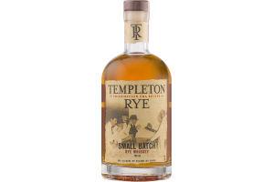 Templeton Rye Small Batch Rye Whiskey