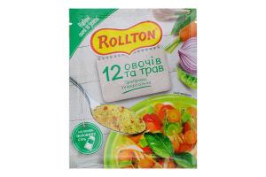 Приправа універсальна 12 овочів та трав Rollton м/у 60г