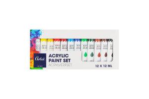 Набор краски 12шт 12мл в ассортименте