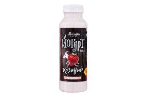 Йогурт 2.7% из козьего молока с клубникой Доообра Ферма п/бут 300мл