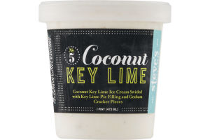 Steve's Coconut Key Lime Ice Cream