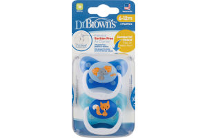 Dr. Brown's Pacifiers (6-12m) - 2 CT