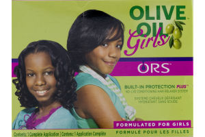 ORS Olive Oil Girls Built-In Protection Plus No-Lye Conditioning Hair Relaxer System