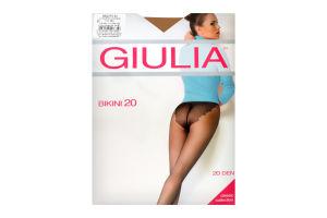 Колготки жіночі Giulia Classic collection Bikini 20den 5-XL cappuccino