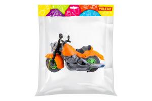 Игрушка для детей от 3лет Мотоцикл гоночный Крос Спецмашина Polesie 1шт
