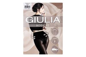 Колготки жіночі Giulia Body 40den 2-S nero