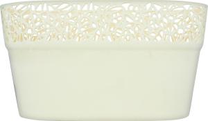 Горшок д/цвет Prosperplast Naturo овал крем 275мм