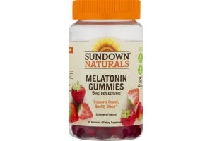 Sundown Naturals Melatonin Gummies 5 mg - 60 CT