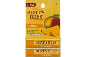 Burt's Bees Moisiturizing Lip Balm Mango - 2 Pk