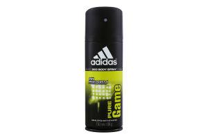 Дезодорант для мужчин Pure Game Sport Sensations Adidas 150мл