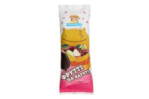 Морозиво плодово-ягідне в глазурі Фрутті на батуті Геркулес м/у 95г