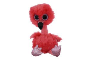 Игрушка мягкая для детей от 3лет 25см №37401 Фламинго Franny Beanie Boo's TY 1шт