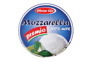 Сыр 45% рассольный Mozzarella premio Cheese Life кг